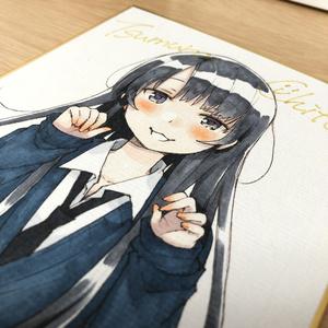 色紙『ミキの放課後』泉