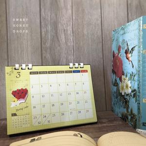 2020年鳥の卓上カレンダー