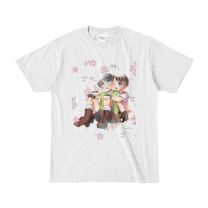 倫太&雪 桃太郎Tシャツ(あっしゅ)