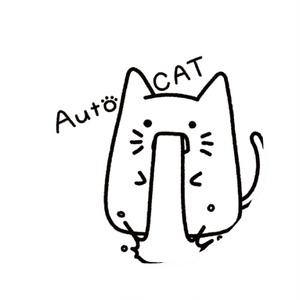 AutoCAT (缶バッジ 32mm)