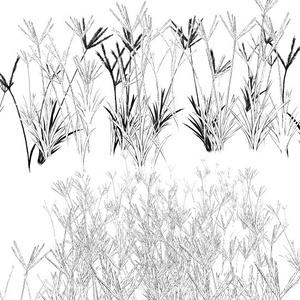 穂草ブラシ01・コミスタクリスタ兼用素材