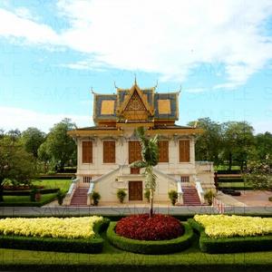 南国の王宮:写真素材集