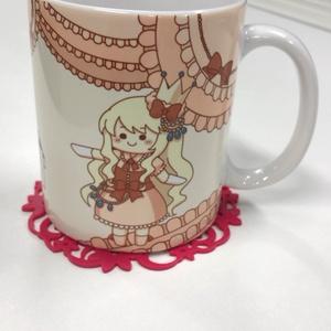 ぴんくのマグカップ