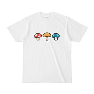3色きのこTシャツ