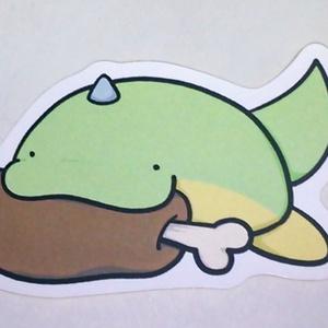 【オリジナル】緑茶(お肉) シール
