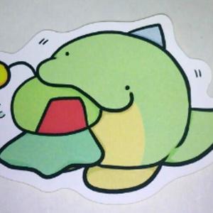 【オリジナル】緑茶(虫食い) シール
