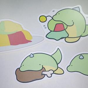 【オリジナル】緑茶 シール4種セット