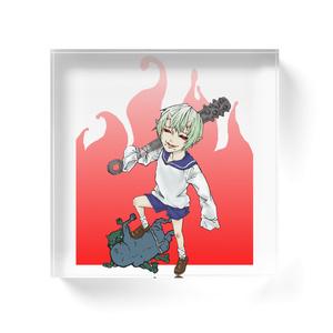 オリジナルアクリルブロック【四天王鬼 -無邪気on邪鬼-】