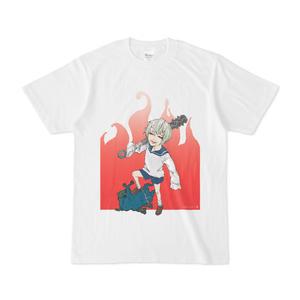 オリジナルTシャツ(白)【四天王鬼 -無邪気on邪鬼-】