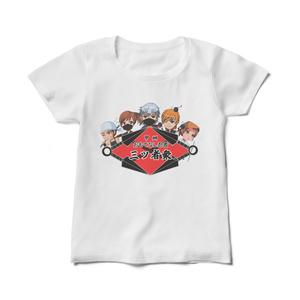 ロゴ入りレディースTシャツ