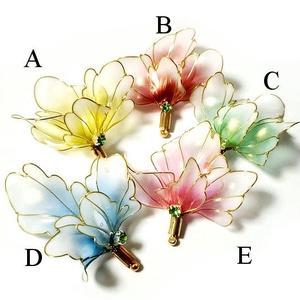 金魚の尾鰭・ピアス/イヤリング 片耳売り