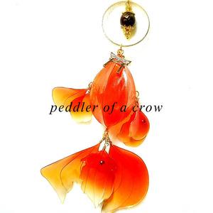 金魚の簪・鳥居 3種/各1個