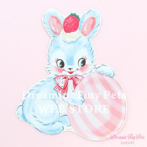ダイカットカード [Egg'n Bunny]