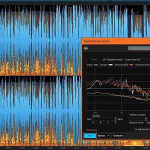音声データのノイズ除去(1トラック超速納品)