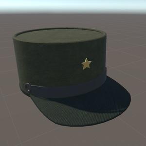 ケピ帽(配布)