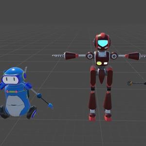 ロボットアバター4体