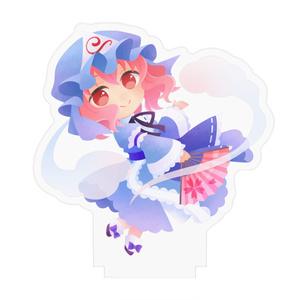 SD「西行寺幽々子」アクリルフィギュア