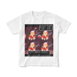 幻想郷ご当地グッズ/RPG風ドットイラストTシャツ「フランドール」