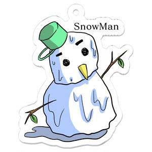 溶ける雪だるま