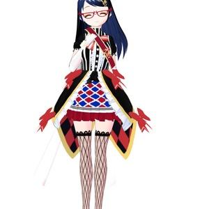 【VRoid】アニメ塗り風の網タイツテクスチャ