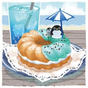 ポスター【海香る夏のドーナツ】