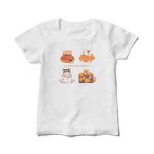 Tシャツ(レディース)【ニッポンのおやつ】