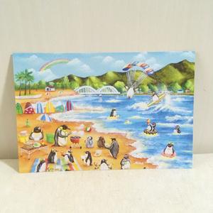 ハワイのこぺんぎんポノのポストカードセット(Dセット)