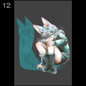 【k】ポストカード【11~17】