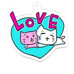 名もなき猫とひまにゃん「LOVE」