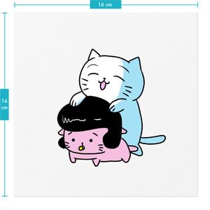 名もなき猫とひまにゃん「ヅラ」