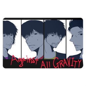 Against All GRAVITY「ICステッカー」