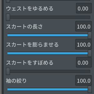 【Vroid】アイドル風衣装ワンピースセット
