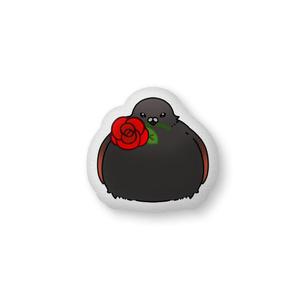 カラス鳩クッション