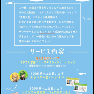 8月4日渋谷LIVE*公式イラストパンフレット*
