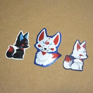 狐シール3種セット×2