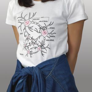 ニューロンちゃんTシャツ(撮影時1回使用・値引有)