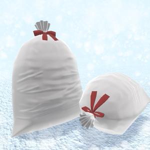 サンタのプレゼント袋3Dモデル【VRChat想定】