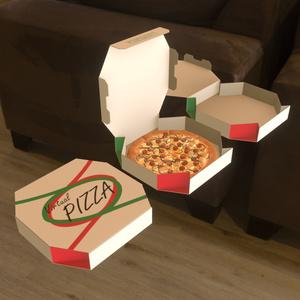 デリバリーピザ 3Dモデル【VRChat可】