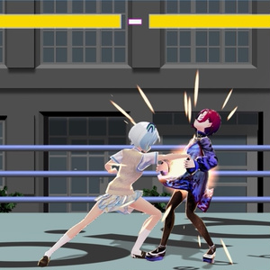 【無料版あり】SPRing Fighter V --TYPE VROID--  ver0.4