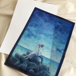 クリアファイル「願いを叶えた星の雨」