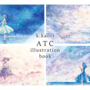 作品集 k.kaor ATC illustration book