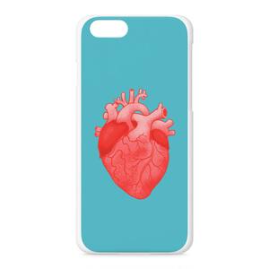 heart(light blue)iPhoneケース - iPhone 6 / 6s