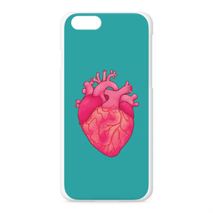 heart(turquoise blue)iPhoneケース - iPhone 6 / 6s
