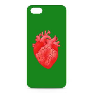 heart(green)iPhoneケース - iPhone 5 / SE