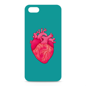 heart(turquoise blue)iPhoneケース - iPhone 5 / SE