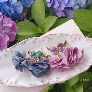 くすみ色の紫陽花*/ Design _ by:NIJU.