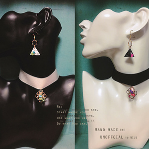 IMAGE to MOMO - pierce . earrings . choker