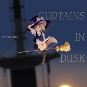 CURTAINS IN DUSK【送料込】