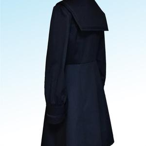 オリジナル セーラーカラーの長袖ワンピース