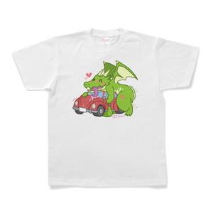 ドラゴンカーセックスTシャツ(白)